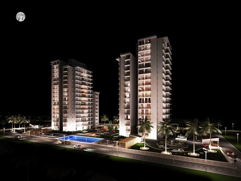 Appartementen complex View1_DEF_LR NIGHT
