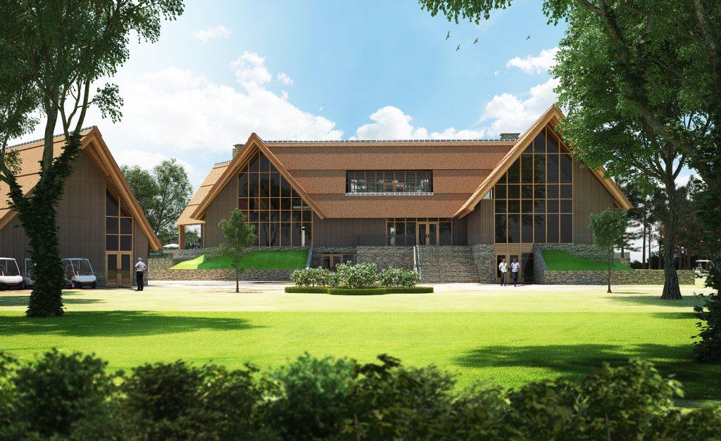 Golfclubhuis_007 View 5 - Voorkant frontaal + mensen DEF_HR