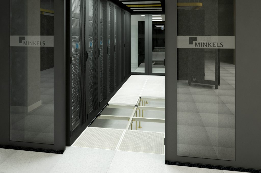 PBS Datacenter view CORRIDOR_020C_Minkels